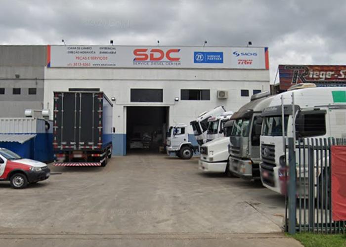 Fachada SDC ZF Curitiba