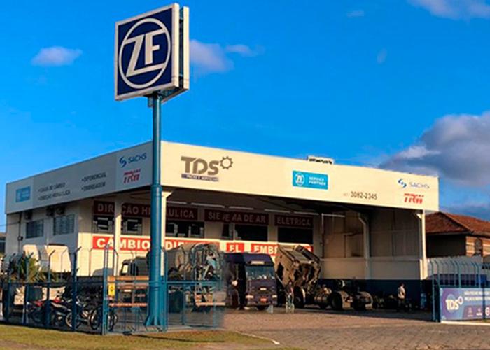 Fachada TDS ZF Curitiba