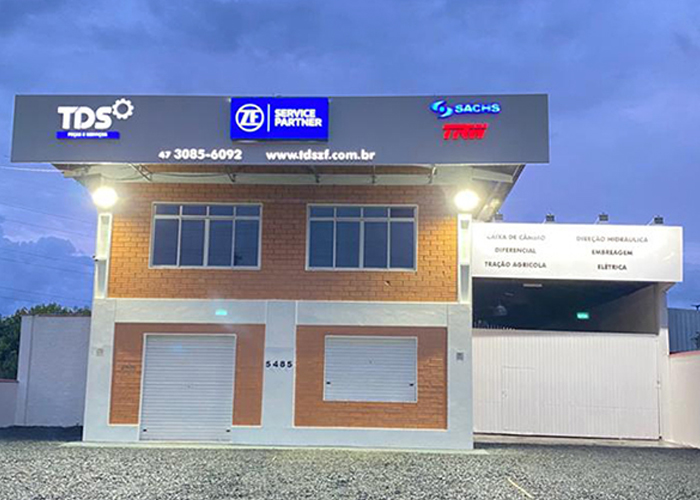 Fachada TDS ZF Joinville